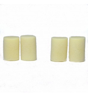COMFORT FOAM CYLINDRICAL LATEX FREE DISPOSABLE EARPLUGS SLEEP STUDY SPORTS WORK 2 PAIRS