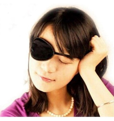SILENT JUNCTION EYE PATCH ADJUSTABLE LAZY EYE SYNDROME AMBLYOPIA PIRATE EYE PATCH FANCY COSTUME