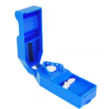 EZY DOSE Deluxe Pill Tablet Cutter Splitter
