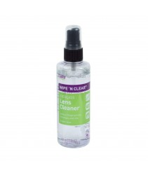 FLENT'S WIPE 'N CLEAR EYEGLASS LENS CLEANER FOR GLASS OR PLASTIC LENSES NON-AEROSOL PUMP 118ml